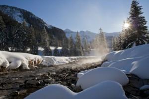 Im Winter ist die Landschaft von Obertauern einzigartig