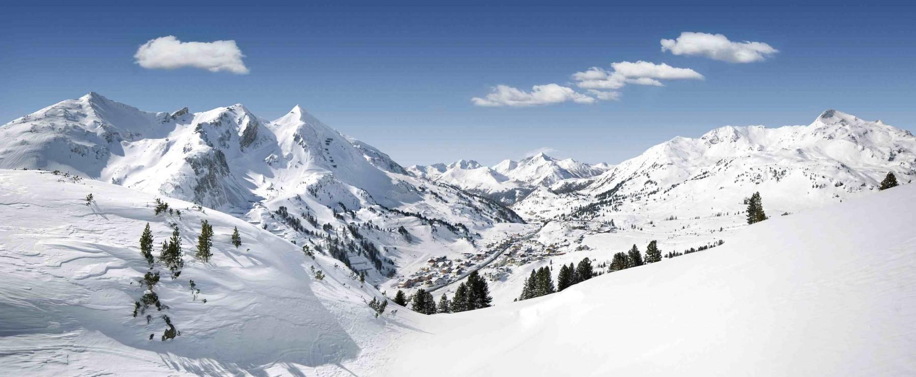 Das ist die berühmte Schneeschüssel Obertauern, heimliche Heimat des Freeridens.
